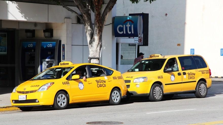 Los Angeles Uluslararası Havalimanı Taksi seferleri