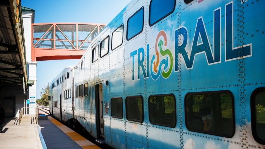 Miami Havaalanı Tri Rail Trenleri