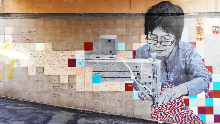 Seul'de yapılması gerekenler Ihwa Mural Village