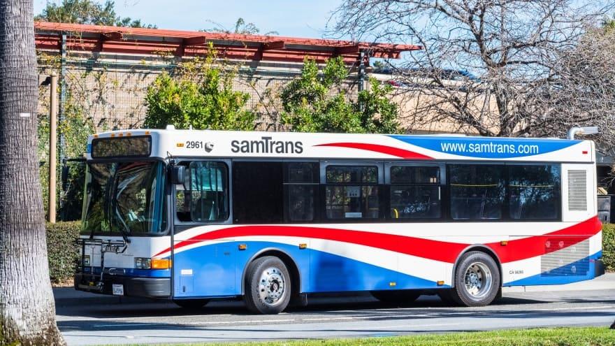 San Francisco Uluslararası Havalimanı Sam Trans Otobüsleri