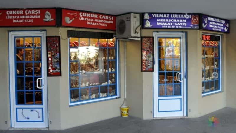 Eskişehir'de alışveriş Çukur Çarşı