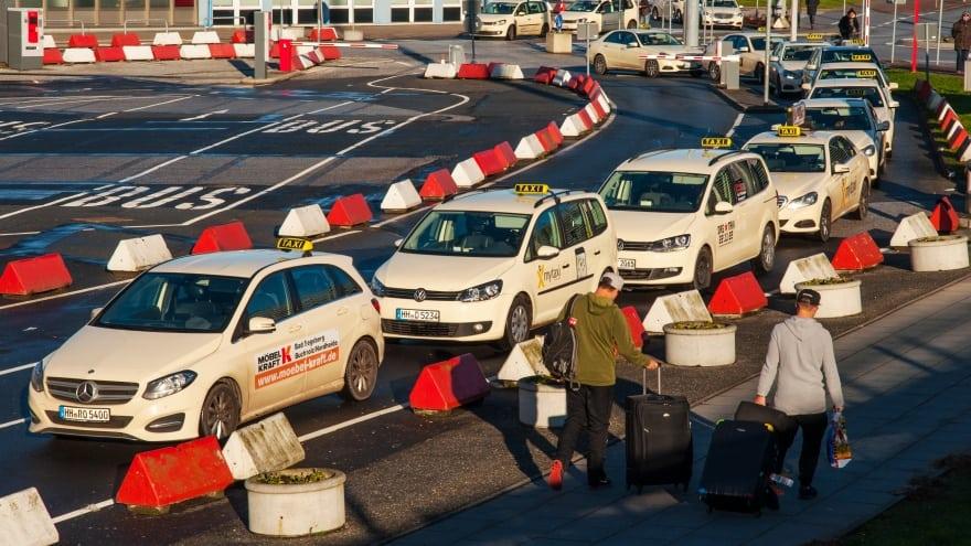 Hamburg Havalimanı Taksi Fiyatları