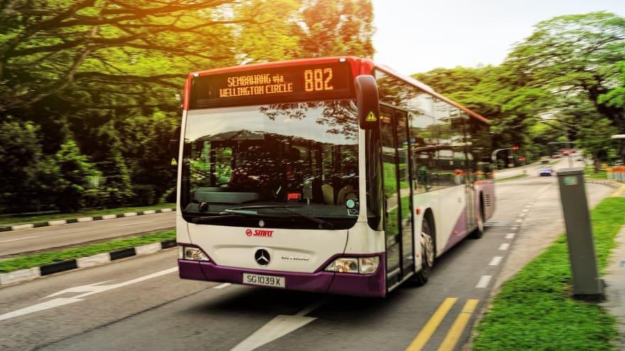 Singapur Havaalanı'ndan şehir merkezine otobüs ile ulaşım