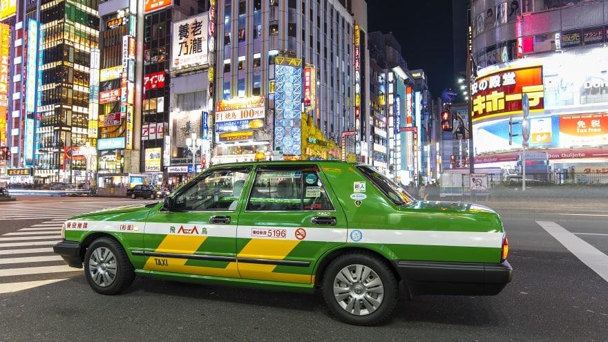 Tokyo Uluslararası Havalimanı Taksi