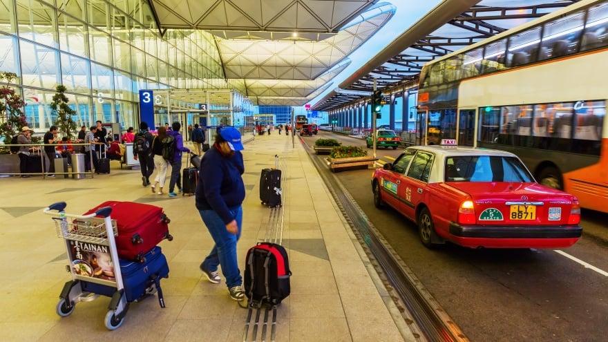 Hong Kong havaalanı taksi fiyatları