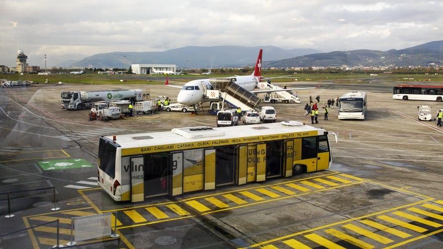 Floransa Havaalanı Ulaşım