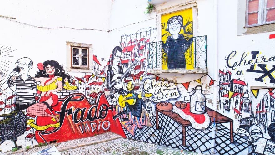 Lizbon'da yapılacak şeyler graffiti
